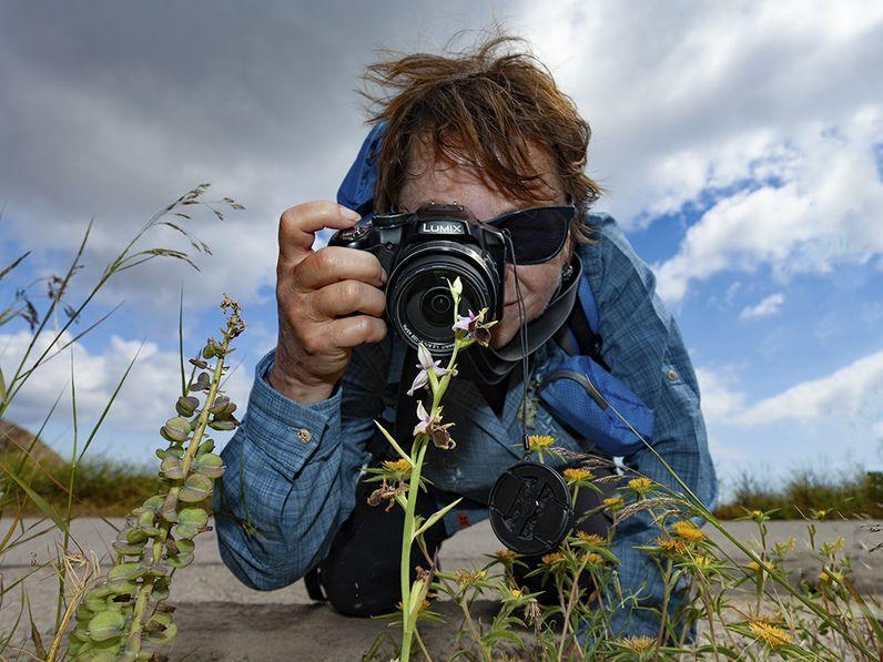 Orchideen sind immer ein Thema auf den Touren. (c) Tobias Schorr
