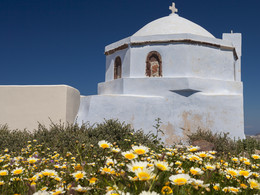 Kirche. Pyrgos/Santorini (c) Tobias Schorr, April 2017