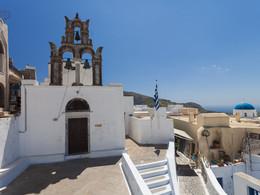 Agios Nikolaos Kirche. Pyrgos/Santorini (c) Tobias Schorr, April 2017