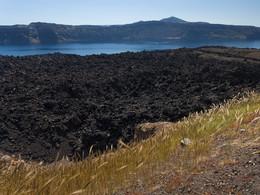 Das Lavafeld ist der Krater des Ausbruchs von 1950, (c) Tobias Schorr, April 2017