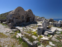 Die Kapelle Agios Stefanos in Alt-Thera, (c) Tobias Schorr, April 2017