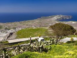 Blick auf die Halbinsel Akrotiri.