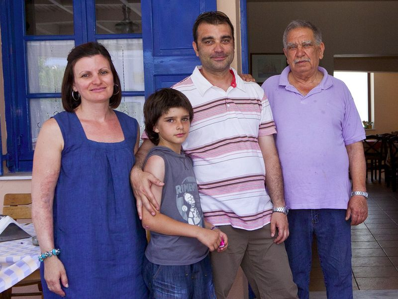 Die Familie Kokkalis