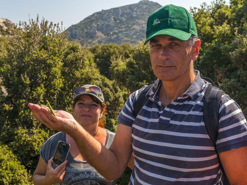 Gäste auf der Nisyros-Tour
